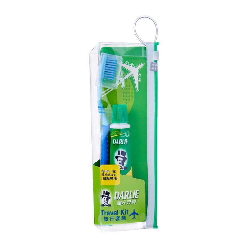 Darlie Travel Kit Adult ( Toothbrush and Toothpaste 50g ) 1 pack