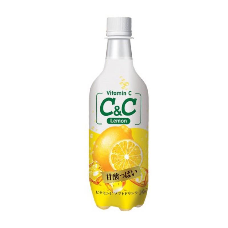 C&C Lemon Sparkling (500ml)
