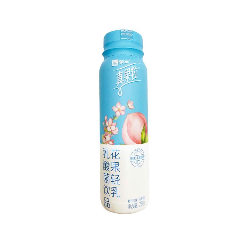Mengniu Sakura & Peach Flavor Yogurt (230g)
