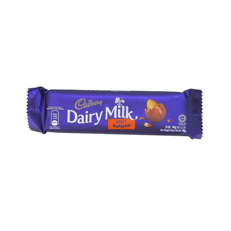 Cadburry Dairy Milk - Roast Almond (40g)